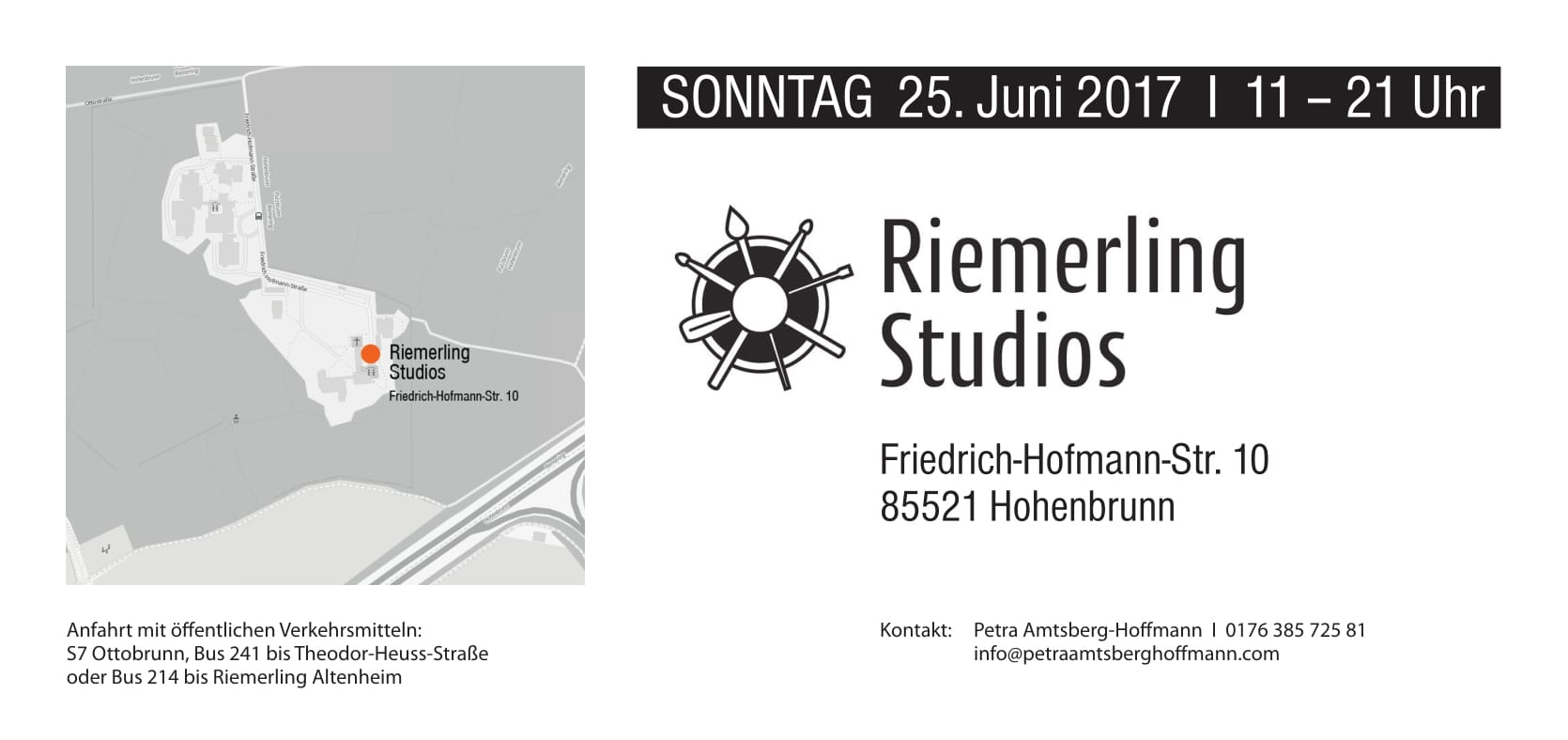 open studios Riemerling 2